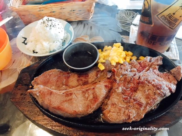【神戸市西区のハワイアンカフェ】ミューズキッチンのワンポンドステーキがオススメ! 居心地GOODで子連れでも行きやすい^^